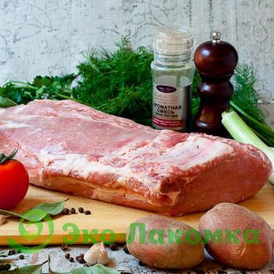 Свиной карбонад без кости, 1 кг