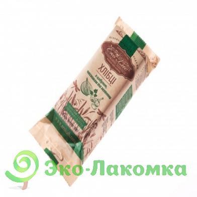 Хлебцы с луком, чесноком и зеленью. Эко Хлеб, 120 г