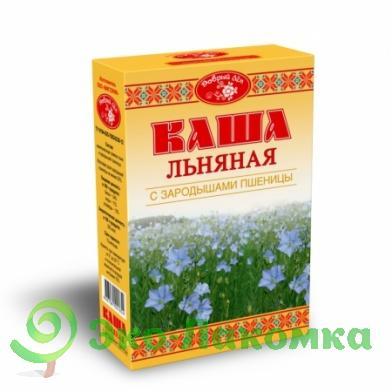 Каша льняная с зародышами пшеницы Добрый лен, 400 г