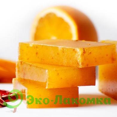 Мыло натуральное апельсиновое
