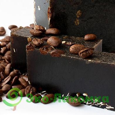 Мыло натуральное кофейное