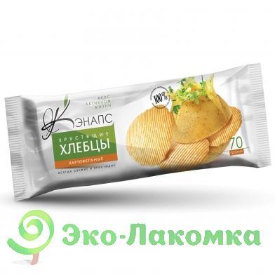 Кэнапс. Хлебцы хрустящие картофельные, 70 г