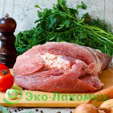 Свиной окорок без кости, 1 кг